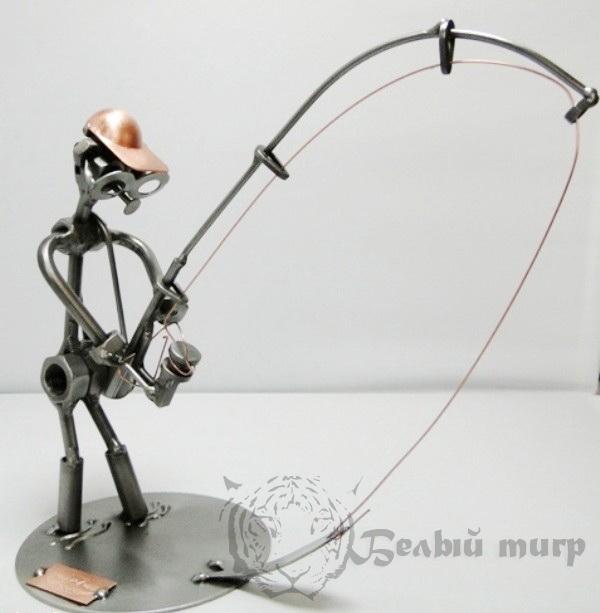 рыбак и металл